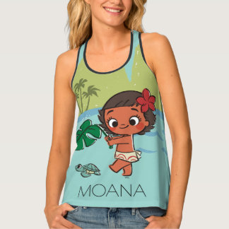 Moana   Born to be in the Sea Tank Top