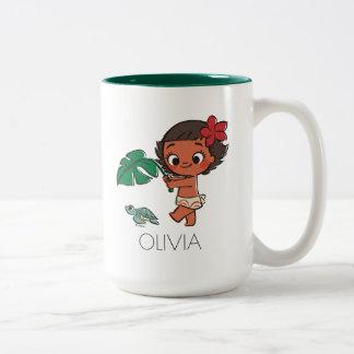 Moana | Born to be in the Sea Two-Tone Coffee Mug