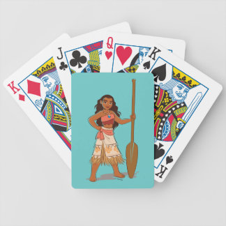 Moana | Daughter Of The Sea Bicycle Playing Cards