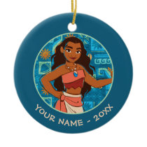 Moana | Daughter Of The Sea Ceramic Ornament