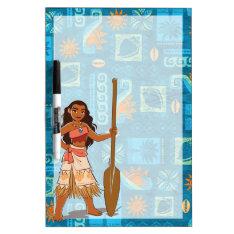 Moana   Daughter Of The Sea Dry-erase Board at Zazzle