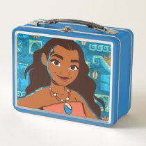 Moana | Daughter Of The Sea Metal Lunch Box