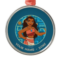 Moana | Daughter Of The Sea Metal Ornament