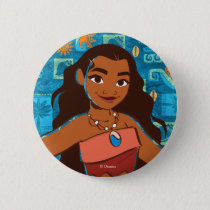 Moana | Daughter Of The Sea Pinback Button
