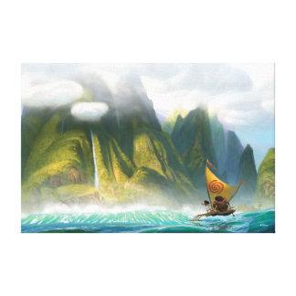 Moana | Discover Oceania Canvas Print