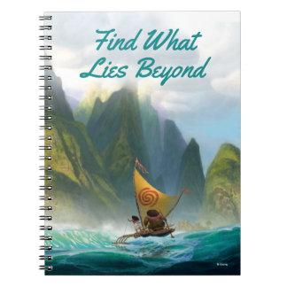 Moana | Discover Oceania Notebook