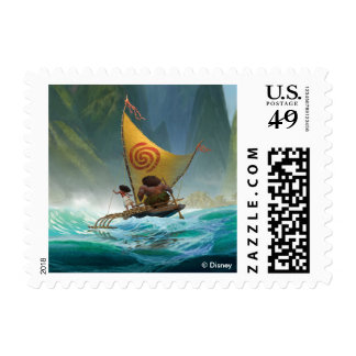 Moana   Discover Oceania Postage Stamp