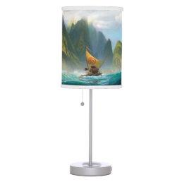 Moana   Discover Oceania Table Lamp