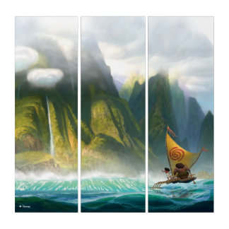 Moana | Discover Oceania Triptych