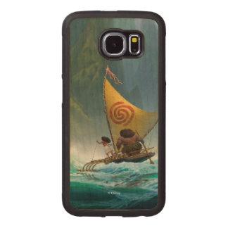 Moana | Discover Oceania Wood Phone Case