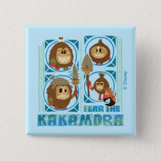 Moana | Fear The Kakamora Pinback Button
