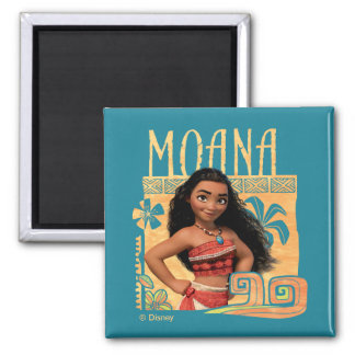 Moana   Find Your Way 2 Inch Square Magnet