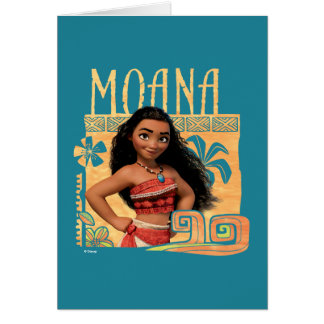 Moana | Find Your Way Card