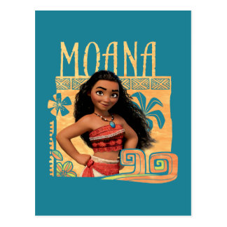 Moana | Find Your Way Postcard