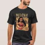 """Moana   Find Your Way T-Shirt<br><div class=""""desc"""">Meet Moana. She&#39;s an ocean princess who dares to sail on an epic adventure. She loves her island but dreams of going beyond the horizon like her ancestors before her. This Disney character may be cute, but she is also proud and powerful! Seen here on a colorful ocean background with...</div>"""
