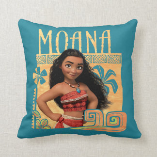 Moana | Find Your Way Throw Pillow