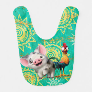 Moana | First Mate & Top Rooster Bib