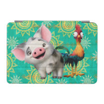 Moana | First Mate & Top Rooster iPad Mini Cover