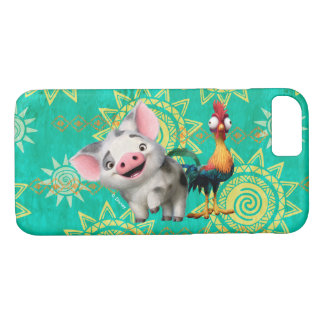 Moana   First Mate & Top Rooster iPhone 7 Case