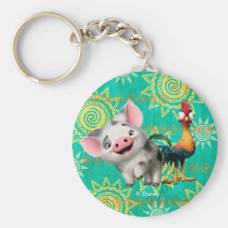 Moana | First Mate & Top Rooster Keychain