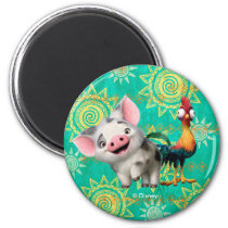 Moana | First Mate & Top Rooster Magnet