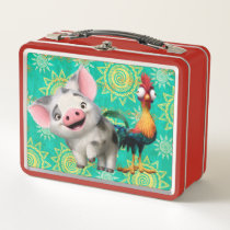 Moana | First Mate & Top Rooster Metal Lunch Box