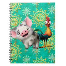 Moana   First Mate & Top Rooster Notebook
