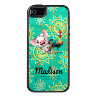 Moana   First Mate & Top Rooster OtterBox iPhone 5/5s/SE Case