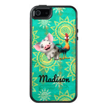 Moana | First Mate & Top Rooster OtterBox iPhone 5/5s/SE Case