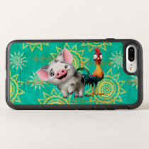 Moana | First Mate & Top Rooster OtterBox Symmetry iPhone 8 Plus/7 Plus Case