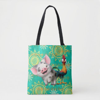 Moana | First Mate & Top Rooster Tote Bag