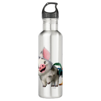 Moana | First Mate & Top Rooster Water Bottle