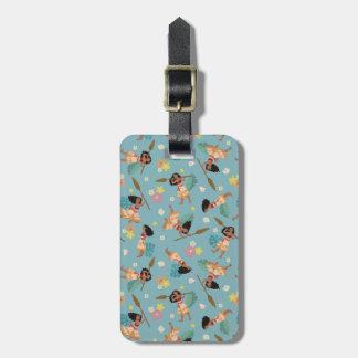Moana | Floral Pattern Bag Tag
