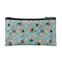 Moana | Floral Pattern Makeup Bag