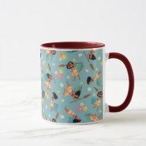 Moana | Floral Pattern Mug
