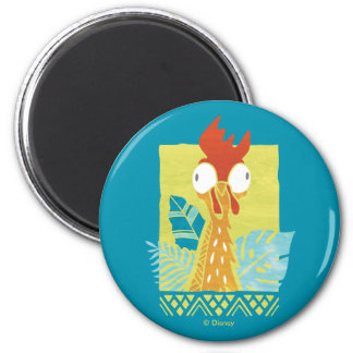 Moana | Heihei - I'm In Charge Here 2 Inch Round Magnet