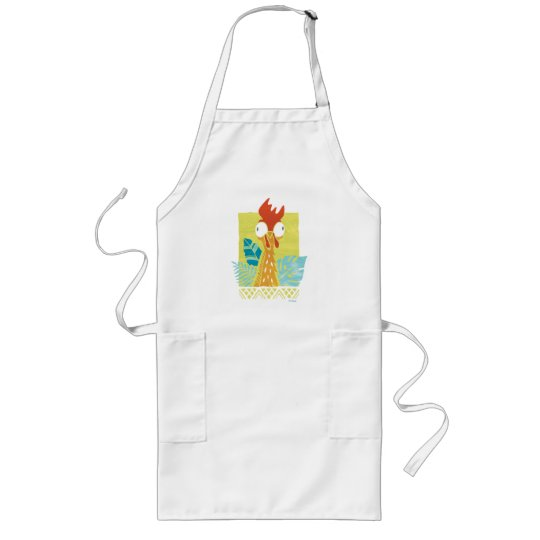 1783a1f6c Moana | Heihei - I'm In Charge Here Long Apron | Zazzle.com