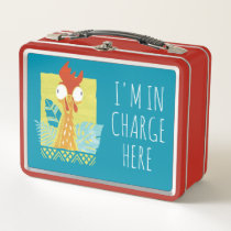 Moana | Heihei - I'm In Charge Here Metal Lunch Box