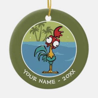 Moana | Heihei - Very Important Rooster Ceramic Ornament