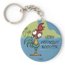 Moana | Heihei - Very Important Rooster Keychain