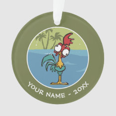 Moana | Heihei - Very Important Rooster Ornament at Zazzle