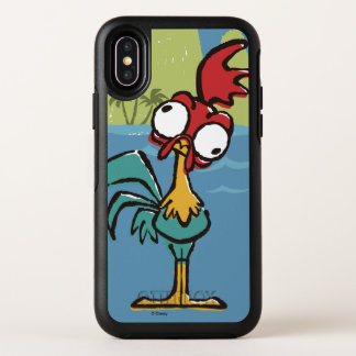 Moana | Heihei - Very Important Rooster OtterBox Symmetry iPhone X Case