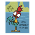 Moana | Heihei - Very Important Rooster Postcard