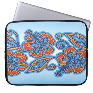 Moana Hibiscus Hawaiian Neoprene Wetsuit Laptop Sleeve