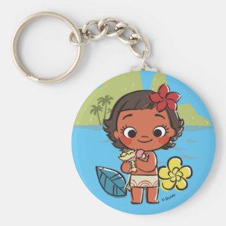 Moana | Island Daughter Keychain