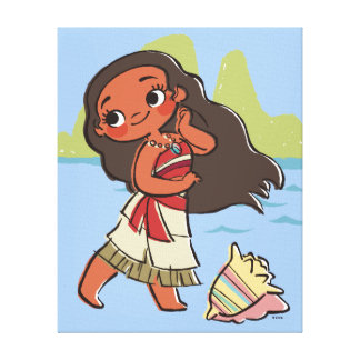 Moana | Island Girl Canvas Print