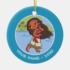 Moana | Island Girl Ceramic Ornament at Zazzle