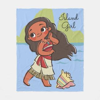 Moana | Island Girl Fleece Blanket