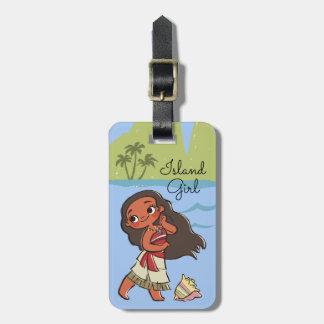Moana | Island Girl Luggage Tag