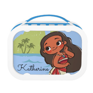 Moana | Island Girl Lunch Box at Zazzle